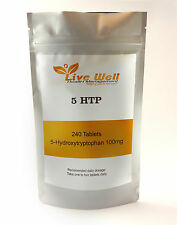 5-HTP 100mg Tablets, High Strength For Depression Anxiety & Insomnia