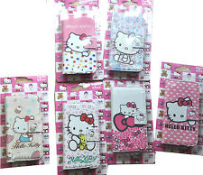 hello kitty Cartoon Leather Wallet Cover Case for Samsung Galaxy Note 2 II N7100