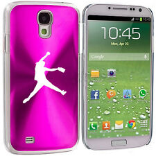 For Samsung Galaxy S3 S4 S5 Hot Pink Hard Case Cover Female Softball Pitcher