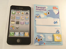 Mobile Phone Note Pad & Twitter Post it Note