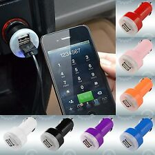 DC Car Cigarette Charger Dual 2 USB Adapter for iPad2 3 4 iPhone 4S 5S 5C WHQ62