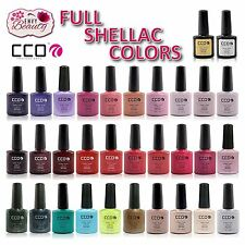 CCO PROFESSIONL UV Led Nail Gel Polish for Shellac Nails ALL COLOURS
