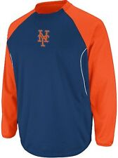 New York Mets MLB Authentic Majestic Therma Base Tech Fleece Big & Tall Sizes