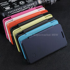 Luxury Fashion Leather Flip Case Cover Film For Huawei ASCEND G600 U8950D (LS)