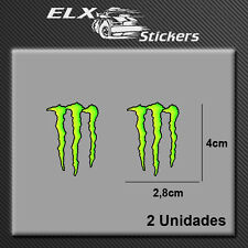 PEGATINA MONSTER MOTO GP RID03 STICKER DECAL AUFKLEBER AUTOCOLLANT VINYL ADESIVO