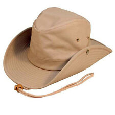 Australian Outback Bush Hat with chin cord  studs. 3 colours FREE  fast post