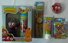 MOSHI MONSTERS 5pk DENTAL/BODY CARE-Toothbrush Toothpaste Flannel Plasters Gel..