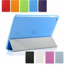 Smart Thin Leather Stand Cover Shell Case for iPad Mini 1 2/iPad 2 3 4/iPad Air
