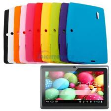 "Soft Comfortable Silicone Case Cover for Dual Camera 7"" Android A13/Q8 Tablet PC"