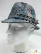 FAILSWORTH PATCH HAT Scottish Trilby Fedora 100% Wool Country Cap MADE IN UK New