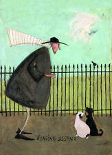 SAM TOFT - SINGING LESSONS ART PRINT WITH FRAME OPTIONS OR AS GICLEE CANVAS