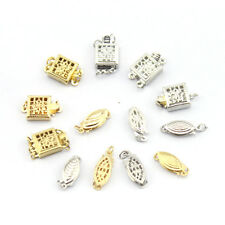 100% High Quality Jewelry Findings Kinds of 14K Gold Filled Flower Box Clasp