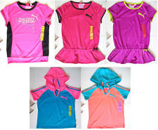 NWT-PUMA Sport Lifestyle Girl Top Short Sleeve-Size XS, S, M, or L  Retails $ 24
