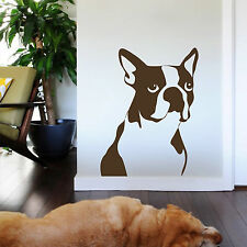 Cartoon Dog Doggie Boxer Animal Home Decor Wall Sticker Stickers Decal Vinyl