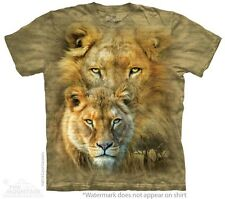 African Royalty T-Shirt by The Mountain. Tiger Lion Big Jungle Cat  S-5XL NEW