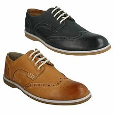 FARLI LIMIT-MENS CLARKS SMART HIGH FASHION SEMI-BROGUE STYLE LACE UP SHOES FIT G