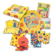 NEW - Something Special Mr Tumble Party - Birthday Party Packs for 8 & 12 Guests