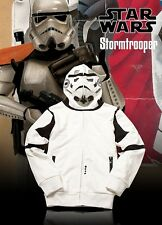 Marc Ecko Star Wars Real Stormtrooper Hoody Jacket Size Small S Mask Rare Zip FS