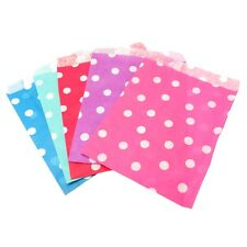 Polka-Dot Paper Sweet, Craft Bags - Wedding Candy, Party, Favour, Card Gift Shop
