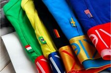 410 Pcs lot Mens Boxer Cotton World Cup Football Flag Underwear-Free shipping