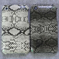 New Snake Skin Design hard case back cover for iphone 3g 3gs
