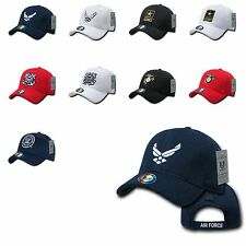 1 Dozen Army Air Force Navy Marines CoastGuard Mesh Baseball Hats Caps Wholesale