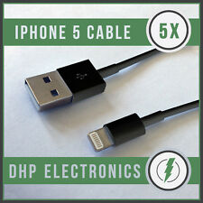 5X Bulk USB 8pin Lightning Cord/Cable for iPhone 5S/5C/5/iPad 4/iPod Touch 5