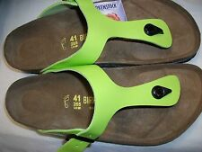 BIRKENSTOCK - GIZEH - KIWI VARNISH RRP $127 SAVE $27