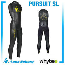 AQUA SPHERE MENS TRIATHLON PURSUIT SL SLEEVELESS TRIATHLON WETSUIT SWIMMING