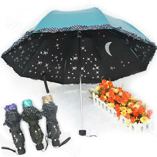 Women Lace Princess Super Anti-UV Parasol Sun/Rain Folding Umbrella M6084 LJN