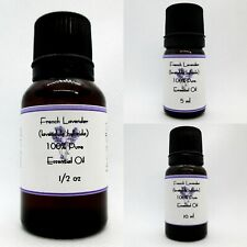 Lavender French Pure Essential oil  Buy any 3 same size get 1 Free