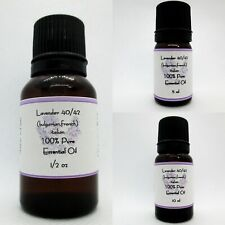 Lavender 40/42 Pure Essential Oil Buy any 3 oils in the same size get 1 Free