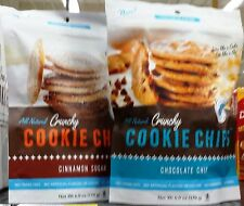 Hannahmax Baking Cookie All Natural Crunchy Cookie Chips ~ One Bag