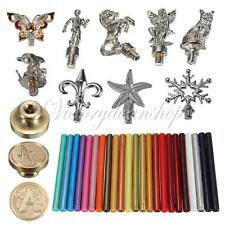 New Alphabet Melting Gun Sealing Wax Stick Stamp Head Handle Wedding Invitation