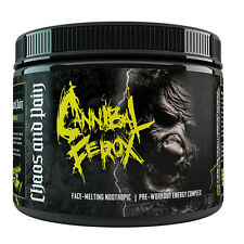 CANNIBAL FEROX CHAOS AND PAIN 200 G ALL FLAVORS STIM PRE WORKOUT CANADA LOW SHIP