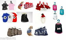 NOVELTY DOG CAT DRESS UP COMFORTABLE WALKS TOP FASHION CLOTHING OUTFIT JACKET