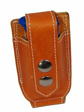NEW Barsony Tan Leather Single Mag Pouch for Browning Colt Mini/Pocket 22 25 380