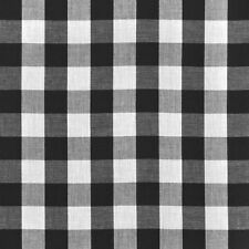2 Checkered 17ft Polyester Table Skirts Gingham Buffalo Check 6ft Table Skirting