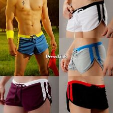 Shorts Shorts retrò da uomo Hot Nuoto Swim Trunks Tether Costumi da bagno