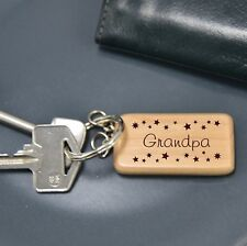 PERSONALISED KEYRING (60735) BIRTHDAY, CHRISTMAS, FATHERS DAY GIFT PRESENT