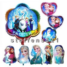 Multi-kind Colorful Frozen Aluminum balloon for Wedding&Birthday Party Decorati