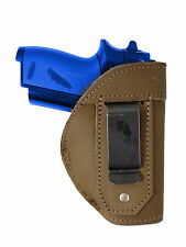 NEW Barsony Olive Drab Leather IWB Gun Holster for Beretta Taurus Mini 22 25 380