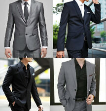 Men's Two Buttons Formal Suits For School Proms Work Weddings Evening Business