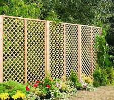 Lattice Pattern outdoor  wooden Garden Trellis Panels, Fencing.