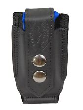 NEW Barsony Black Leather Single Mag Pouch Llama, NA Arms Mini/Pocket 22 25 380
