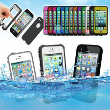 Waterproof Shock Snow Proof Touch ID Fingerprint Discern Case for Apple iPhone