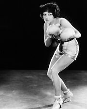 CLARA BOW ROUGH HOUSE ROSIE BOXING GLOVES POSE IN SHORTS ICONIC PHOTO OR POSTER