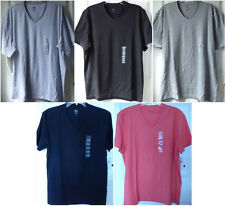 NWT CALVIN KLEIN MENS V-NECK TEE SHIRT Size Medium, X-Large, or 2X-Large