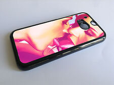 Lesbian kiss sexy girls kissing HTC ONE M8 Cover Phone Case hard