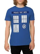 DOCTOR WHO new Mens S M L XL 2X TARDIS Be The Character COSTUME T Shirt COSPLAY